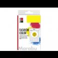 Barva za tekstil v prahu, srednje rumena