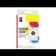 Barva za tekstil v prahu, temno rjava