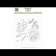 Štampiljka, Charming Rose