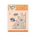 Rezalna šablona, Humming Bees, Flower Corner