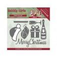 Rezalna šablona, Bubbly Girls Christmas, Christmas set