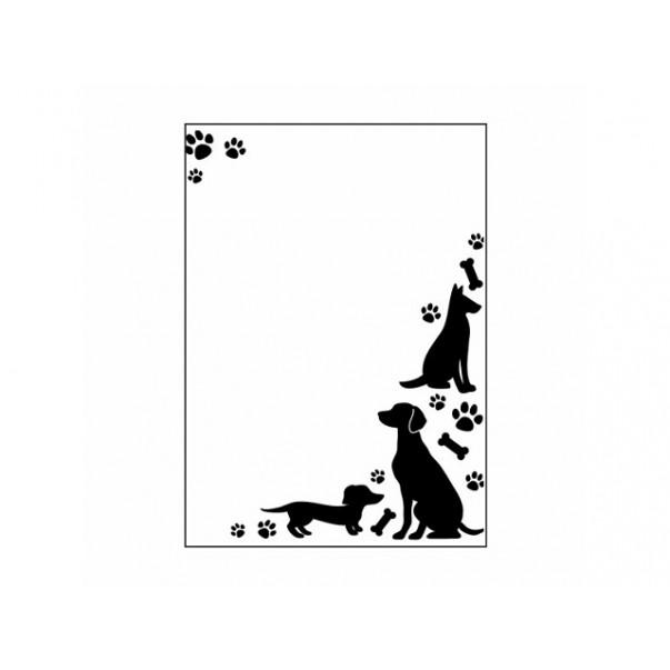 Mapa za embosiranje, Dogs and paws