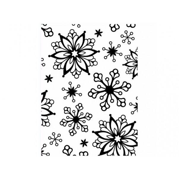Mapa za embosiranje, Snowflakes
