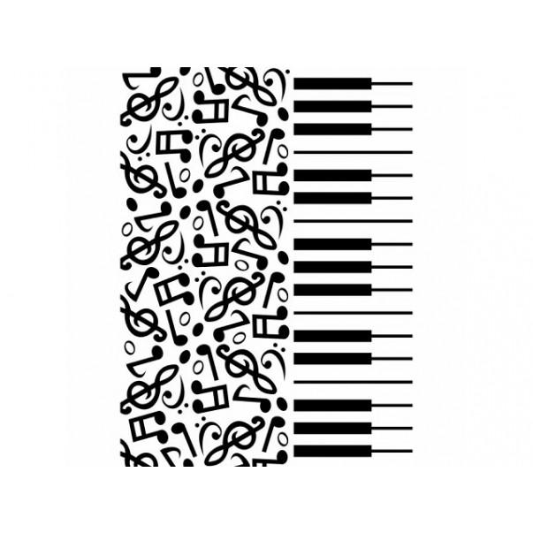 Mapa za embosiranje, Piano notes