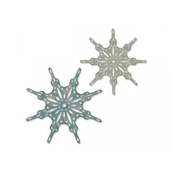 Rezalna šablona, Fanciful snowflakes