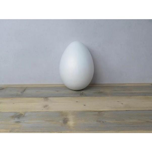 Jajce iz stiroporja, dvodelno