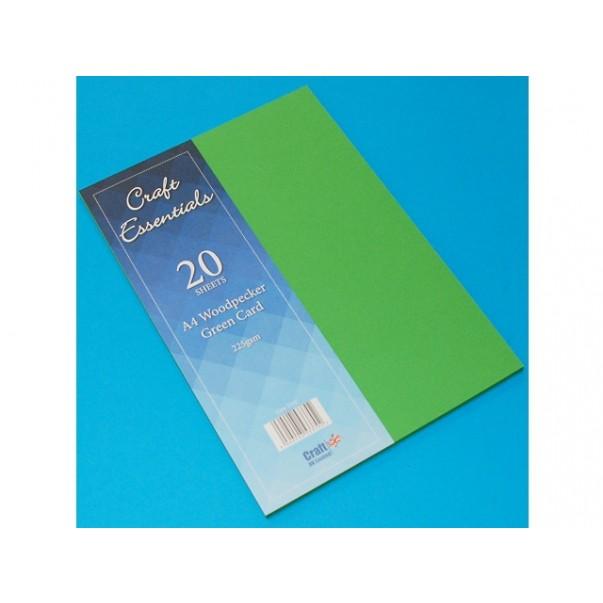 Papir, A4, Woodpecker Green