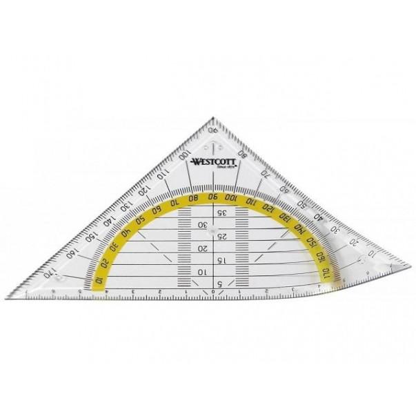 Ravnilo geo trikotnik