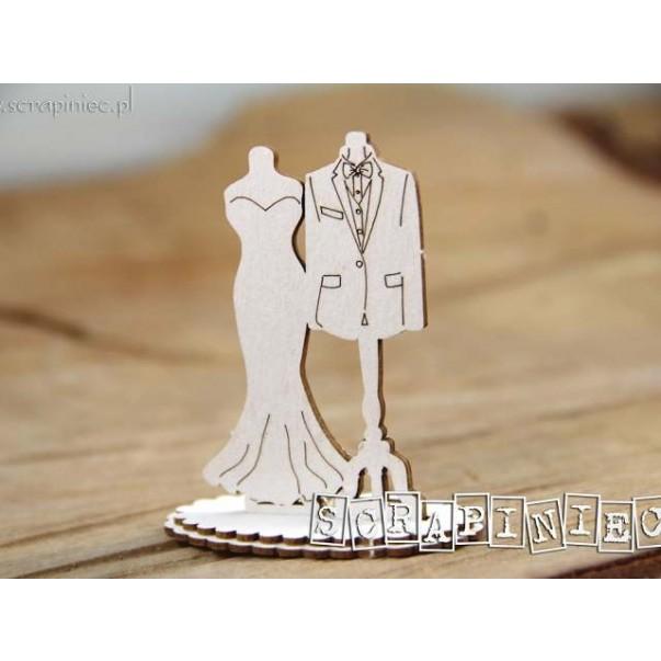 Izrezek, chipboard, 3D, Love in 3D, modela