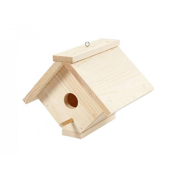Lesena ptičja hiška
