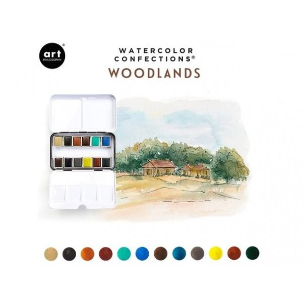 Akvarelni set, Watercolor Confections