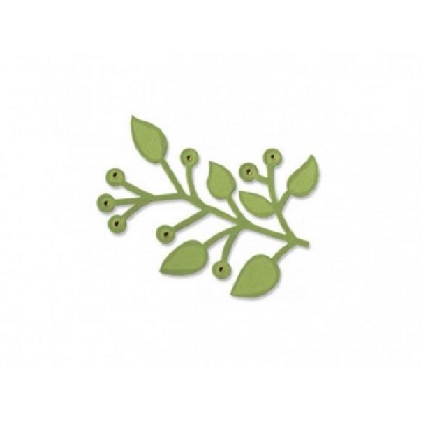 Rezalna šablona, Branch w/leaves