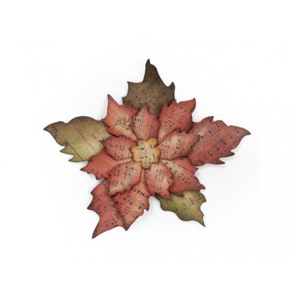Rezalna šablona, Poinsettia