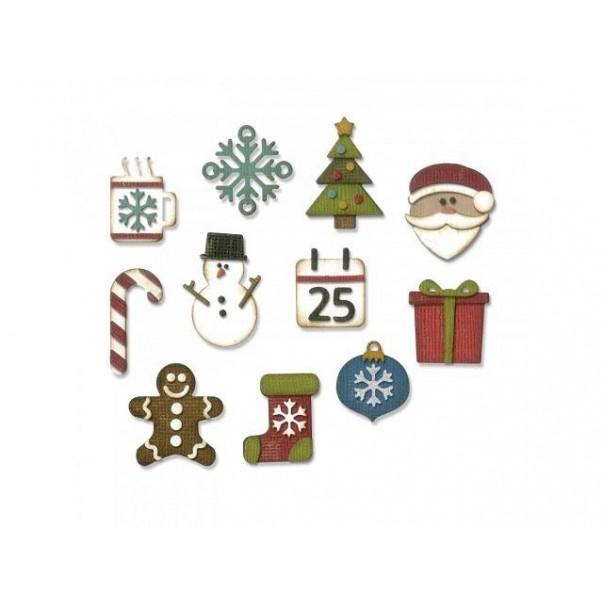 Rezalna šablona, Mini christmas things