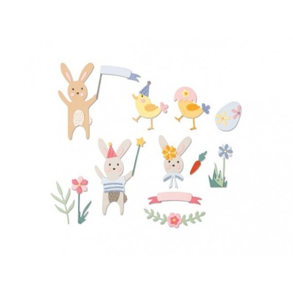 Rezalna šablona, Easter Celebration