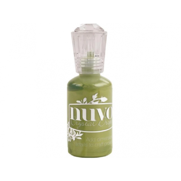 Crystal Drops, Bottle Green