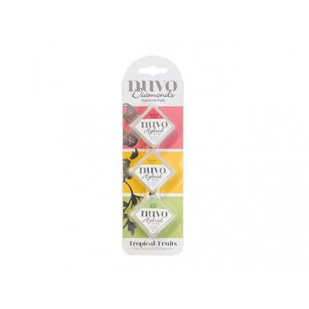 Barvne blazinice, hibridne, Tropical Fruits