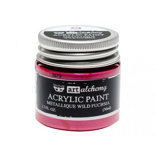 Akrilna barva, Art Alchemy Metallique, Wild Fuchsia