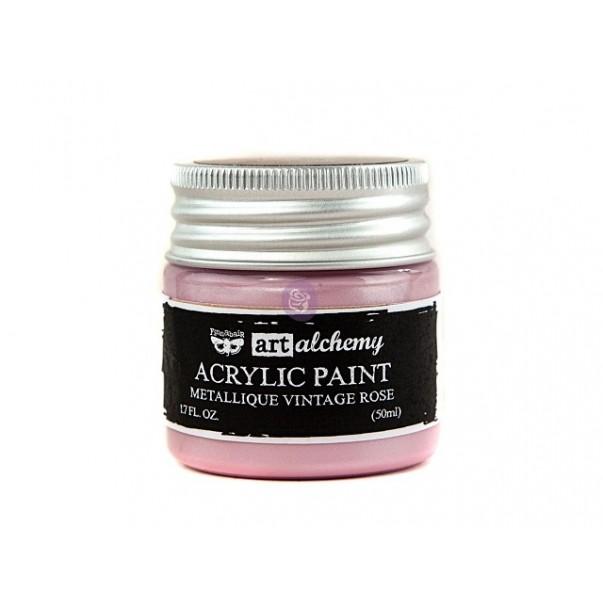 Akrilna barva, Art Alchemy Metallique, Vintage Rose
