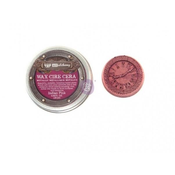 Vosek, Metallique Wax, Art Alchemy, Indian Pink