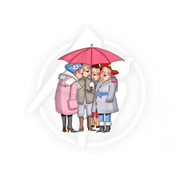 Štampiljka, Under My Umbrella, Girlfriends