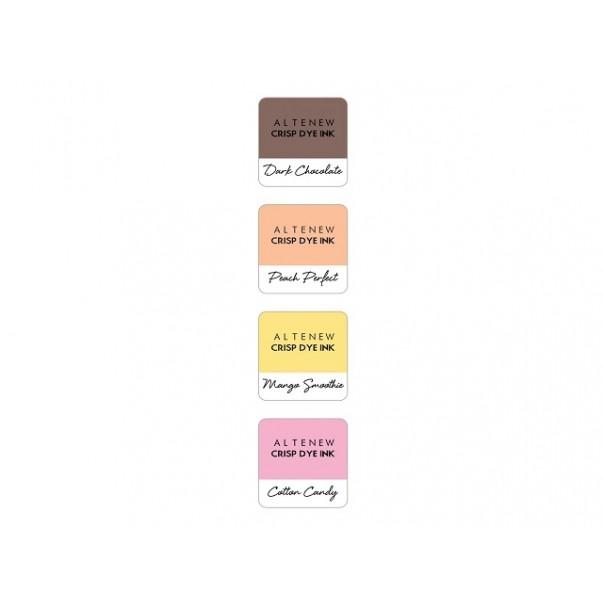 Barvna blazinica, Four Scoops, set