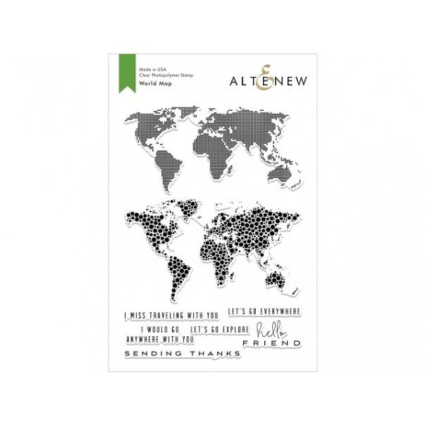 Štampiljka, World Map