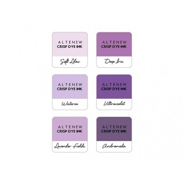 Barvna blazinica, Lilac Blossoms, set