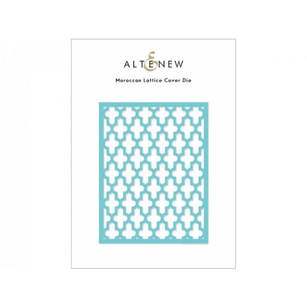 Rezalna šablona, Moroccan Lattice Cover
