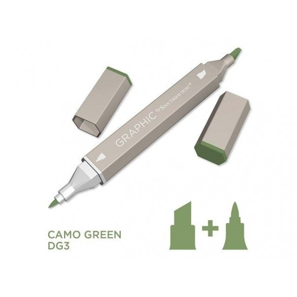 Marker Graphic, Camo green