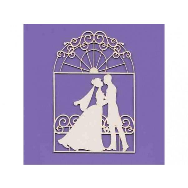 Izrezki, Poročni par