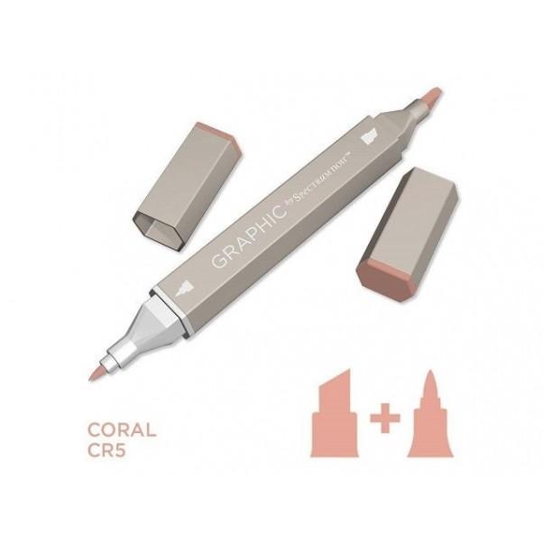 Marker Graphic, Coral