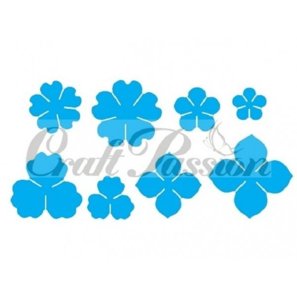 Rezalna šablona, Flower #7