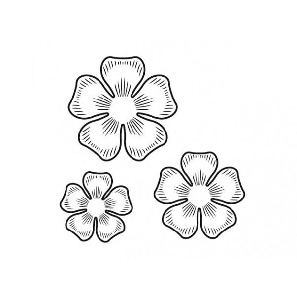 Štampiljka, Flowers #2