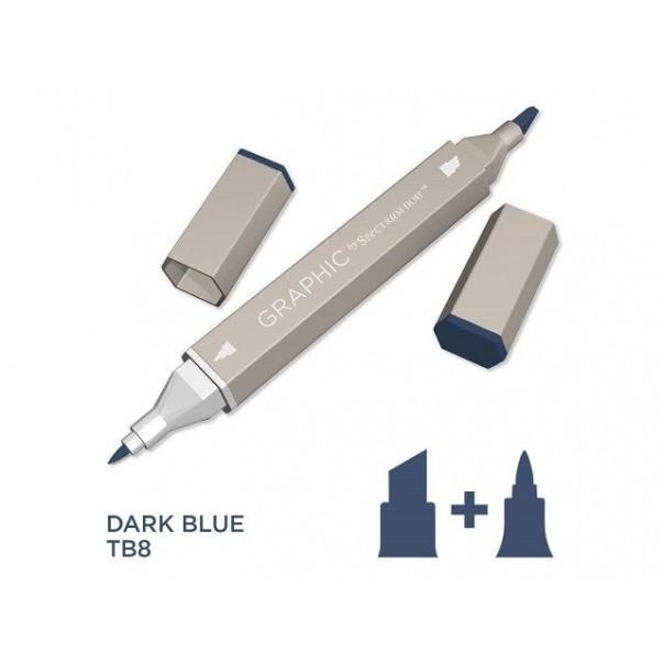 Marker Graphic, Dark blue