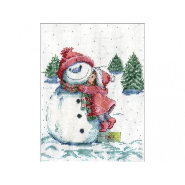 Gobelin, Red Hat Snowman, snežak