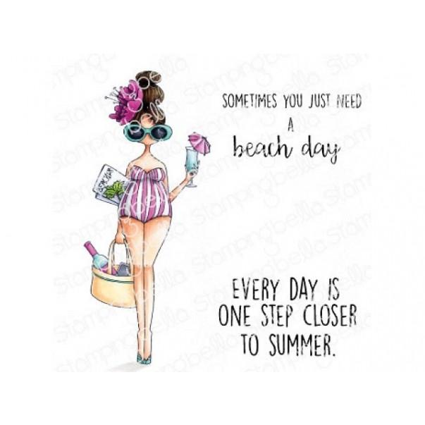 Štampiljka, Curvy Girl Loves The Beach
