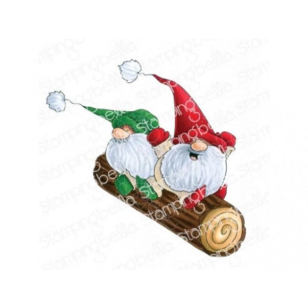 Štampiljka, Two Gnomes On A Log
