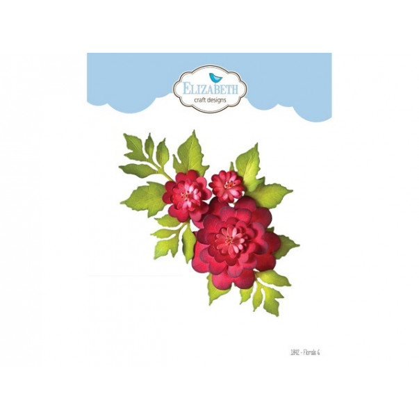 Rezalna šablona, Florals 6