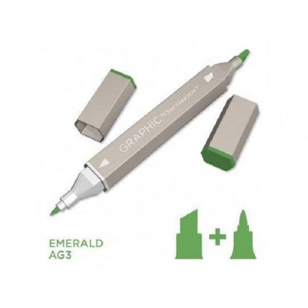 Marker Graphic, Emerald
