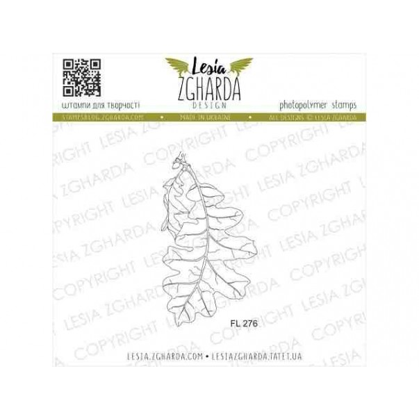 Štampiljka, Oak leaf - large