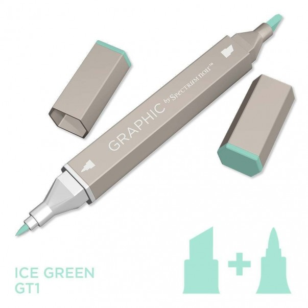 Marker Graphic, Ice green