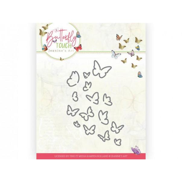 Rezalna šablona, Butterfly Touch, Bunch of Butterflies
