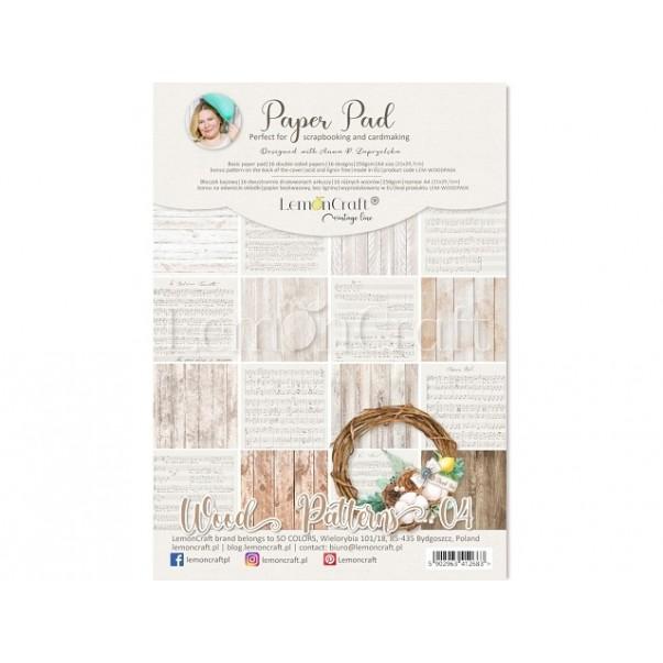 Papir, Wood Patterns 04, set