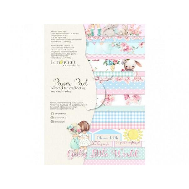 Papir, Girl's Little World 02 set