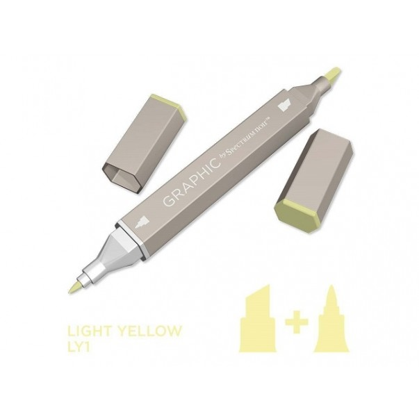 Marker Graphic, Light yellow