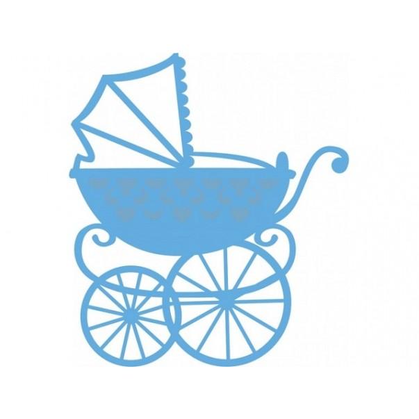 Rezalna šablona, Eline's baby carriage