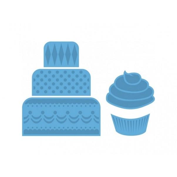 Rezalna šablona, Mini cake&cupcake