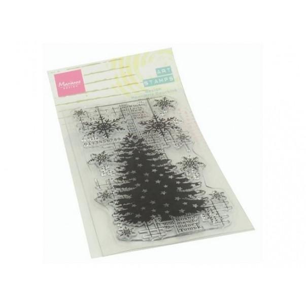Štampiljka, Christmas tree