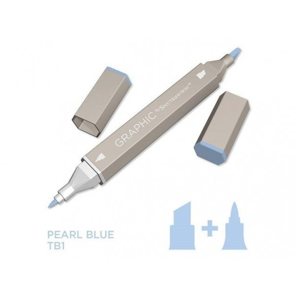 Marker Graphic, Pearl blue